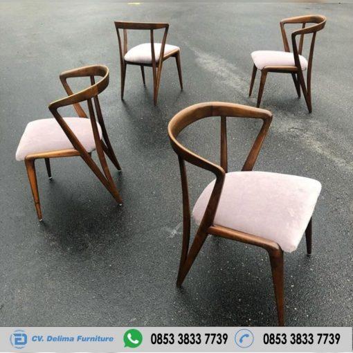 Kursi Cafe Becak Kayu Jati Murah