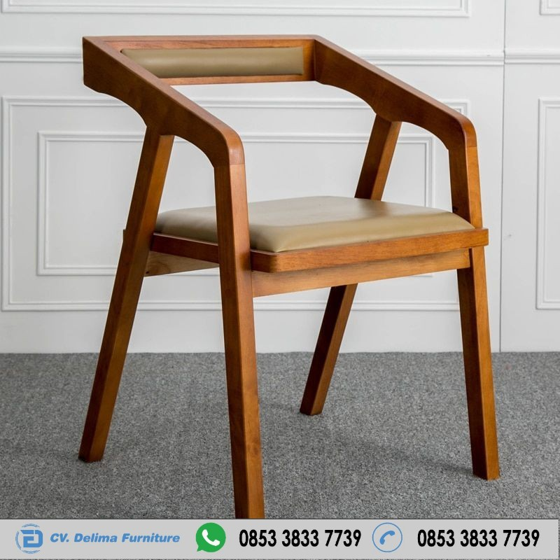 Kursi Cafe Scandinavian Harga Murah Solid Furniture Cafe Kayu Jepara