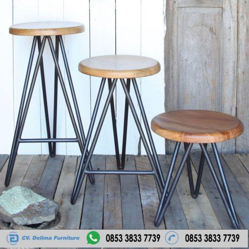 Kursi Cafe Stool Industrial Minimalis Modern