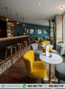 Kursi Cafe Model Sofa Minimalis Retro