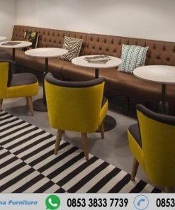 Kursi Sofa Cafe Modern Harga Murah