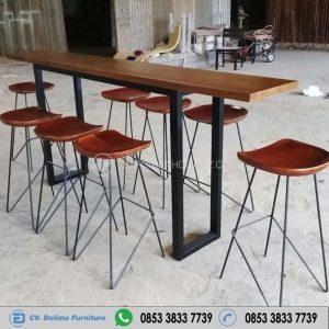 Set Meja Cafe Kursi Bar Modern