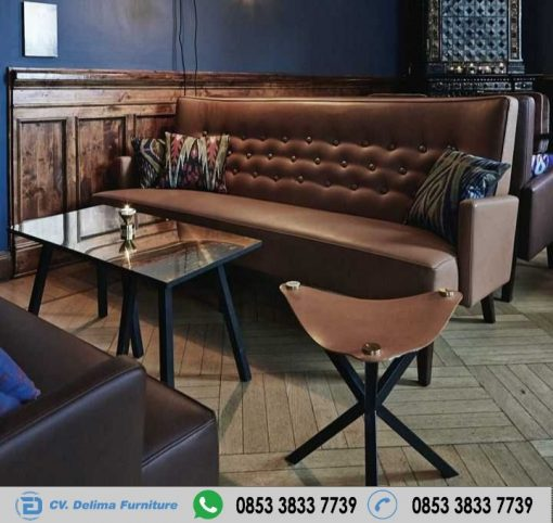 Sofa Cafe Retro Antiq Model Terbaru