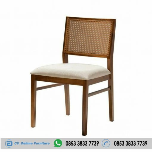 Kursi Cafe Minimalis Jati Steel Chair