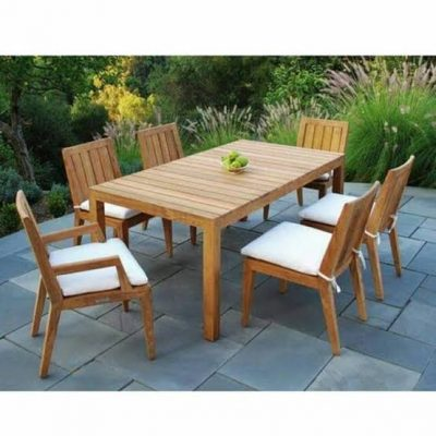 Set Meja Makan Outdoor Garden Furniture Luar