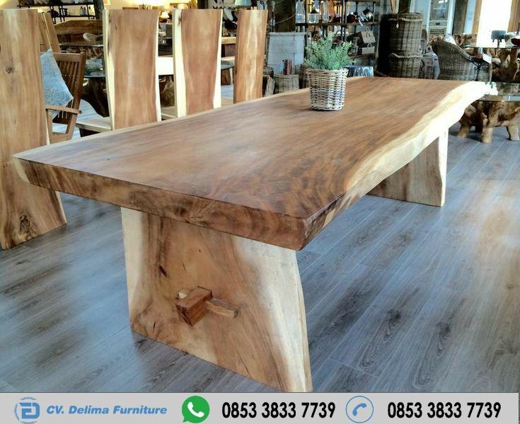 Meja Kayu Solid Tangerang